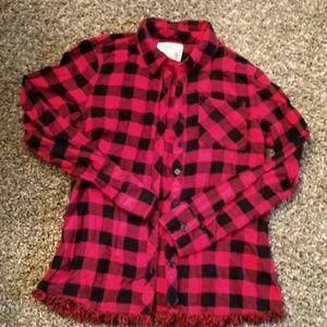 Girls legging flannel